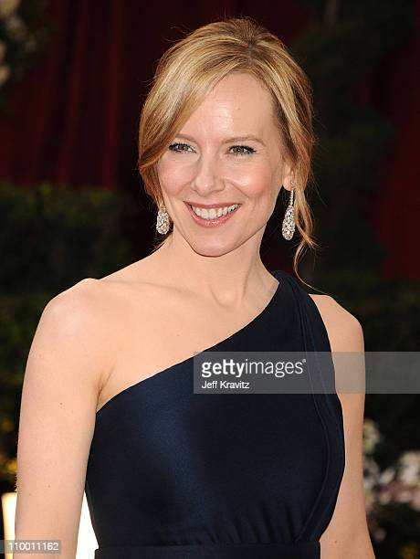 Actress Amy Ryan attends the 80th Annual Academy Awards at the Kodak Theatre on February 24 2008 in Los Angeles California