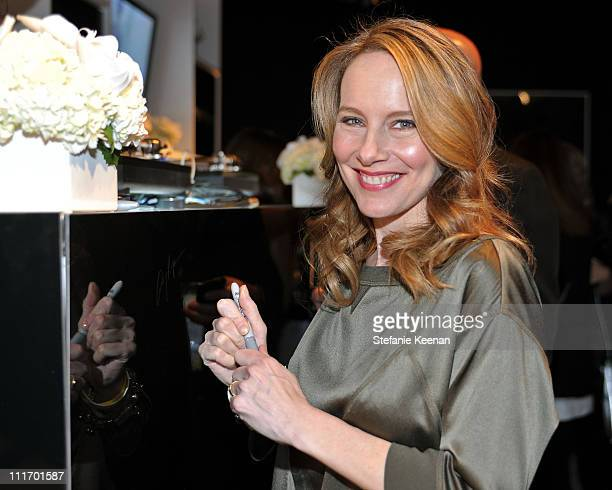 COVERAGE** Actress Amy Ryan attends the ELLE Green Room at the 25th Film Independent Spirit Awards held at Nokia Theatre LA Live on March 5 2010 in...