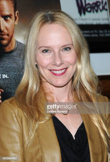 Actress Amy Ryan attends The Guest special screening at BAM on September 16 2014 in the Brooklyn borough of New York City