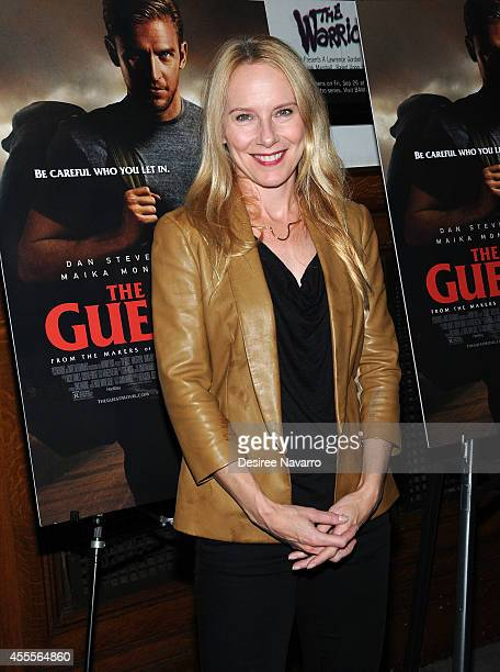 Actress Amy Ryan attends 'The Guest' special screening at BAM on September 16 2014 in the Brooklyn borough of New York City