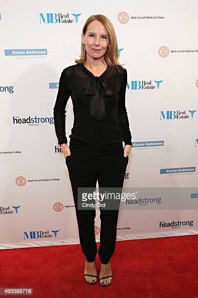 Actress Amy Ryan attends The Headstrong Project's 3rd annual Words of War event at One World Trade Center on October 19 2015 in New York City