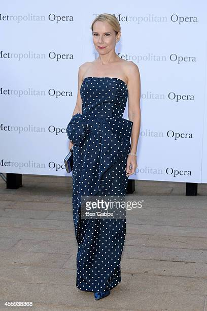 Actress Amy Ryan attends the Metropolitan Opera Season Opening at The Metropolitan Opera House on September 22 2014 in New York City