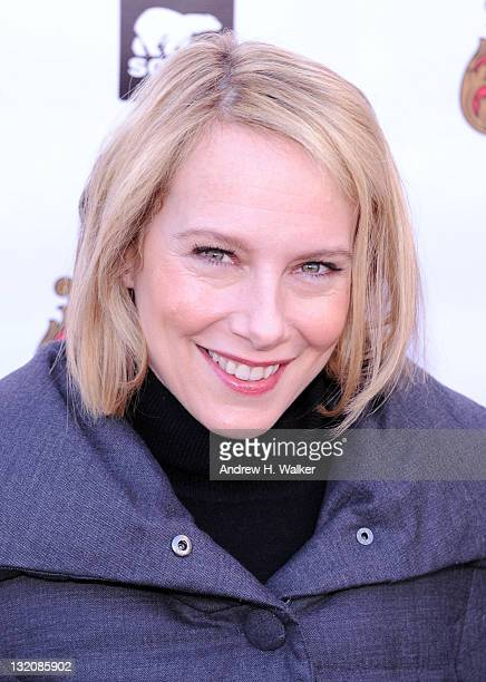 Actress Amy Ryan attends the Samsung Galaxy Tab Lift on January 21 2011 in Park City Utah