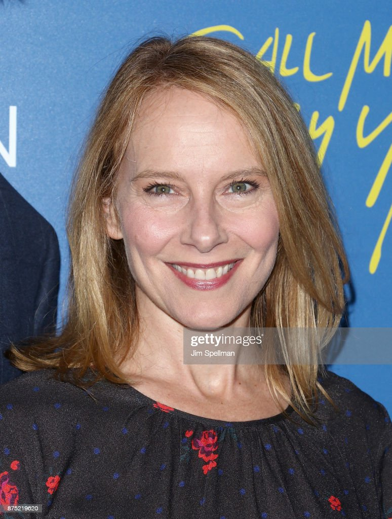 Actress Amy Ryan attends the screening of Sony Pictures Classics' 'Call Me By Your Name' hosted by Calvin Klein and The Cinema Society at Museum of Modern Art on November 16, 2017 in New York City.