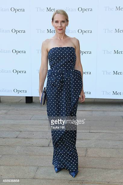 Actress Amy Ryan attends the season opening of 'The Marriage of Figaro' at The Metropolitan Opera House on September 22 2014 in New York City