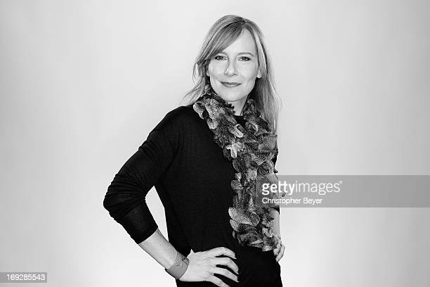 Actress Amy Ryan is photographed for Entertainment Weekly Magazine on January 21 2013 in Park City Utah