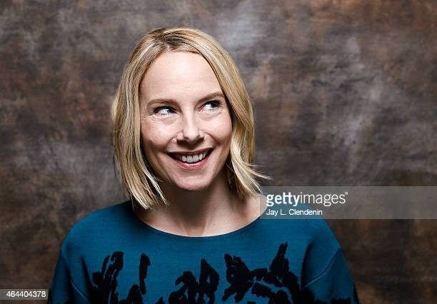 Actress Amy Ryan is photographed for Los Angeles Times at the 2015 Sundance Film Festival on January 24 2015 in Park City Utah PUBLISHED IMAGE CREDIT...