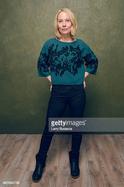 Actress Amy Ryan of 'Don Verdean' poses for a portrait at the Village at the Lift Presented by McDonald's McCafe during the 2015 Sundance Film...