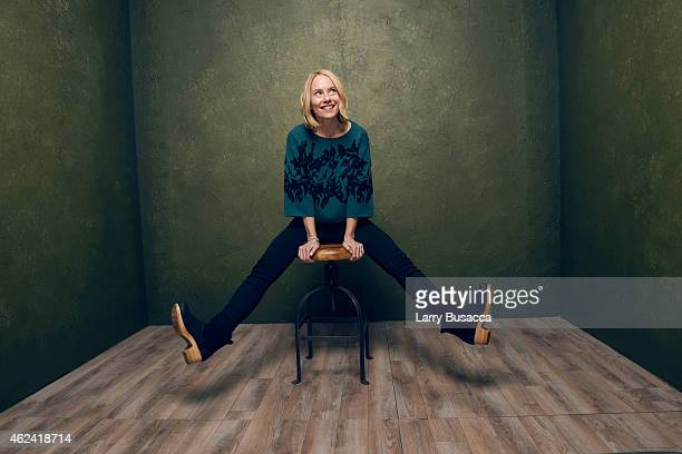 Actress Amy Ryan of Don Verdean poses for a portrait at the Village at the Lift Presented by McDonald's McCafe during the 2015 Sundance Film Festival...