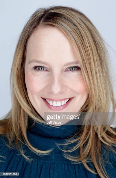 Actress Amy Ryan poses for a portrait during the 2010 Sundance Film Festival held at the WireImage Portrait Studio at The Lift on January 24 2010 in...