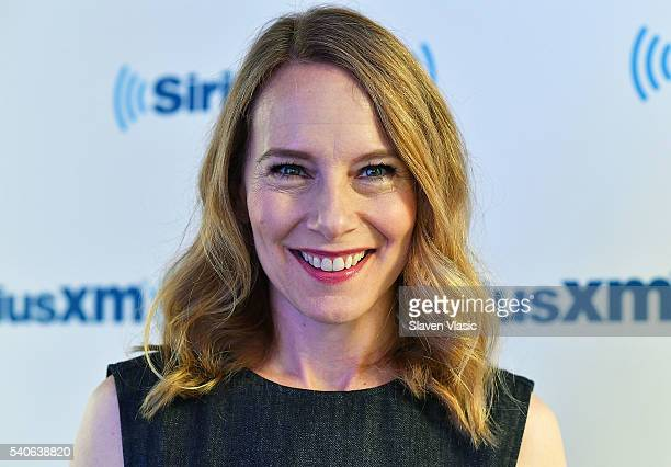 Actress Amy Ryan visits SiriusXM Studios on June 15 2016 in New York City