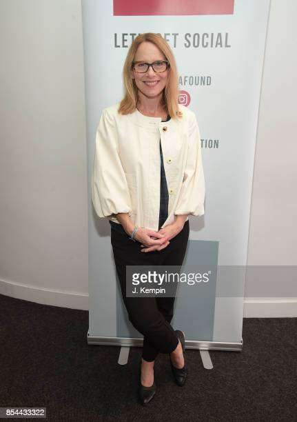 Actress Amy Ryan visits the SAGAFTRA Foundation Robin Williams Center on September 26 2017 in New York City