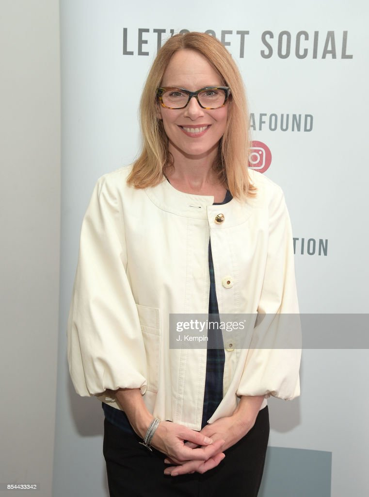 Actress Amy Ryan visits the SAG-AFTRA Foundation Robin Williams Center on September 26, 2017 in New York City.