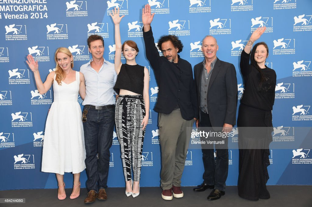 'Birdman' - Photocall - 71st Venice Film Festival : News Photo
