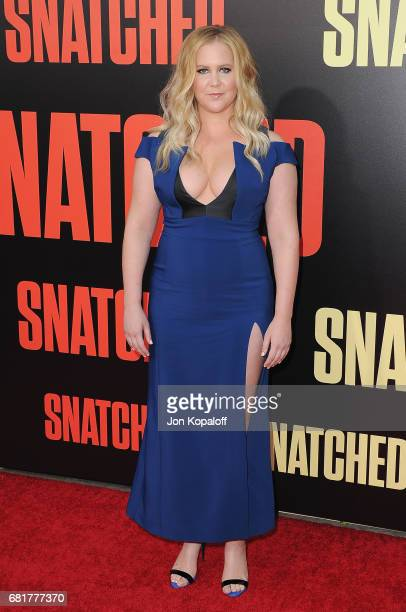 Actress Amy Schumer arrives at the Los Angeles Premiere 'Snatched' at Regency Village Theatre on May 10 2017 in Westwood California