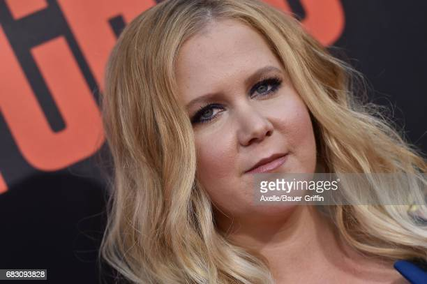 Actress Amy Schumer arrives at the premiere of 20th Century Fox's 'Snatched' at Regency Village Theatre on May 10 2017 in Westwood California