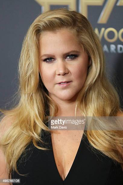 Actress Amy Schumer attends the 19th Annual Hollywood Film Awards at The Beverly Hilton Hotel on November 1 2015 in Beverly Hills California
