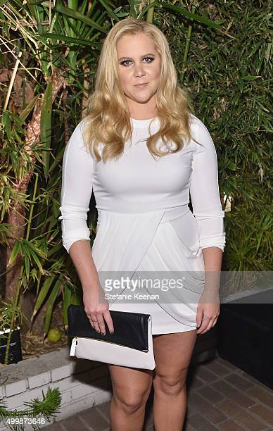Actress Amy Schumer attends the GQ 20th Anniversary Men of the Year Party at Chateau Marmont on December 3 2015 in Los Angeles California