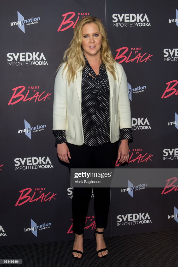 Actress Amy Schumer attends the 'Paint It Black' New York Premiere at the Museum of Modern Art on May 15, 2017 in New York City.