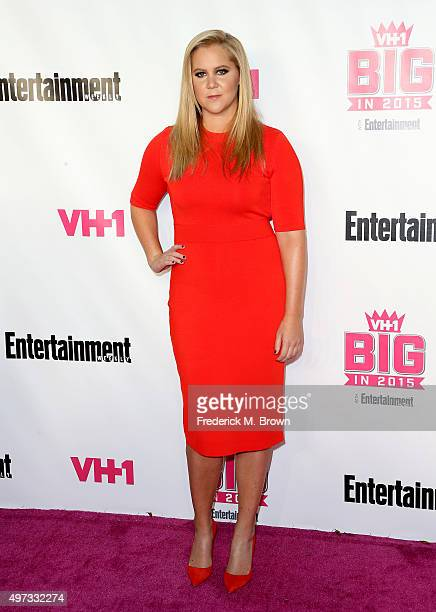 Actress Amy Schumer attends VH1 Big in 2015 With Entertainment Weekly Awards at Pacific Design Center on November 15 2015 in West Hollywood California