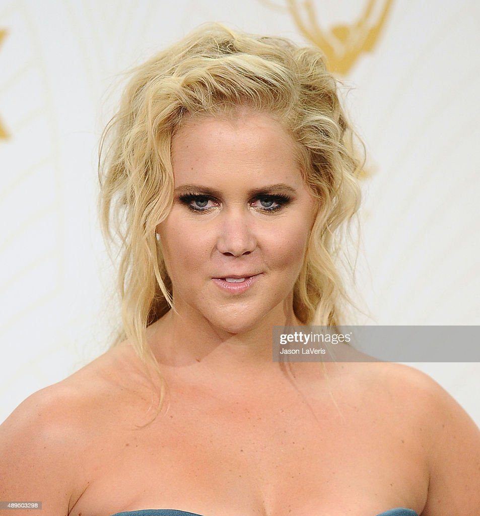 Actress Amy Schumer poses in the press room at the 67th annual Primetime Emmy Awards at Microsoft Theater on September 20, 2015 in Los Angeles, California.