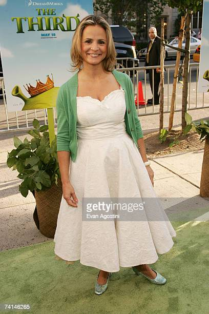 Actress Amy Sedaris attends the premiere of Shrek The Third at Clearview Chelsea West Cinemas May 14 2007 in New York City