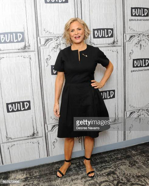 Actress Amy Sedaris visits Build to discuss 'At Home With Amy Sedaris' at Build Studio on October 24 2017 in New York City
