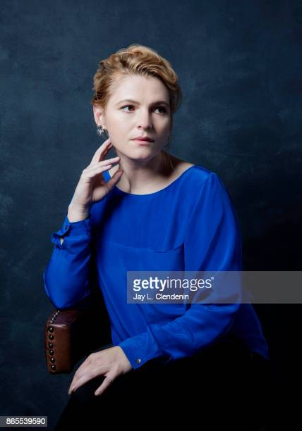 Actress Amy Seimetz from the film 'My Days of Mercy' poses for a portrait at the 2017 Toronto International Film Festival for Los Angeles Times on...