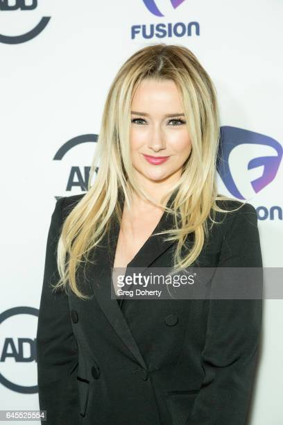 Actress Amy Shiels attends the 2nd Annual All Def Movie Awards at Belasco Theatre on February 22 2017 in Los Angeles California