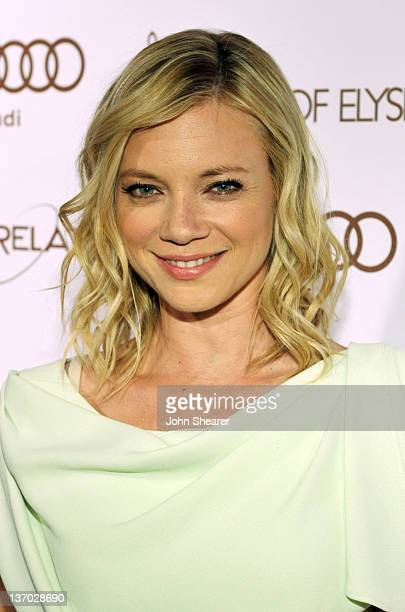 Actress Amy Smart arrives at Audi presents The Art of Elysium's 5th annual HEAVEN at Union Station on January 14, 2012 in Los Angeles, California.