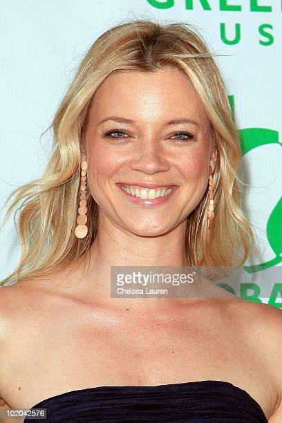 Actress Amy Smart arrives at Global Green USA's 14th Annual Millennium Awards at Fairmont Miramar Hotel on June 12 2010 in Santa Monica California