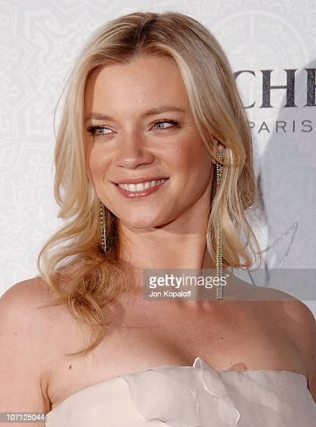 Actress Amy Smart arrives at The Art of Elysium's 3rd Annual BlackTie Charity Gala Heaven at 9900 Wilshire Blvd on January 16 2010 in Beverly Hills...