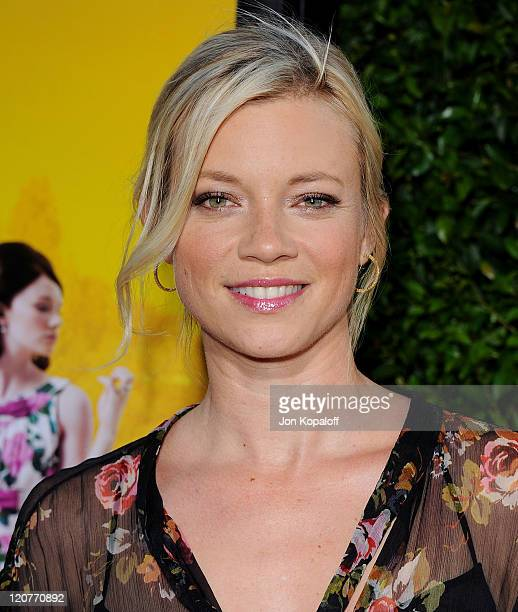 Actress Amy Smart arrives at the Los Angeles Premiere The Help at AMPAS Samuel Goldwyn Theater on August 9 2011 in Beverly Hills California