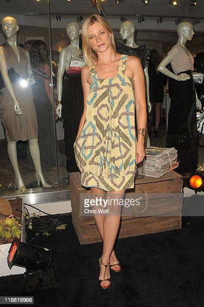 Actress Amy Smart at Beckley Boutique opening on June 12 2008 in West Hollywood California