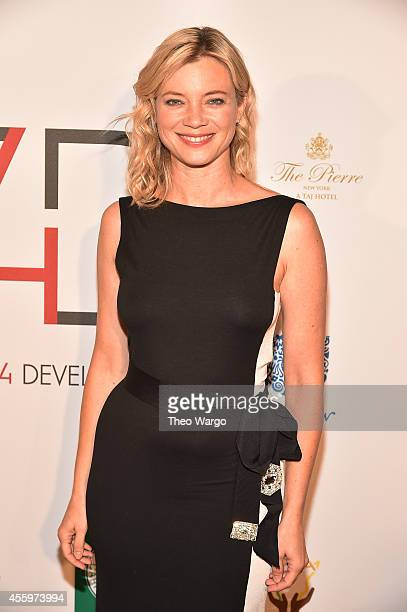 Actress Amy Smart attends Fashion 4 Development 4th Annual Official First Ladies Luncheon at The Pierre Hotel on September 23 2014 in New York City