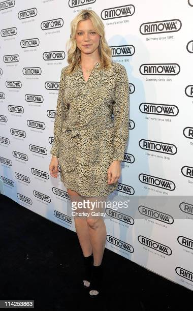 Actress Amy Smart attends the RIMOWA Rodeo Drive Store Opening at RIMOWA on May 16 2011 in Beverly Hills California