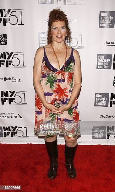 Actress Amy Stiller attends the Centerpiece Gala Presentation Of The Secret Life Of Walter Mitty during the 51st New York Film Festival at Alice...