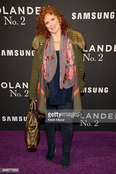 Actress Amy Stiller attends the Zoolander 2 World Premiere at Alice Tully Hall on February 9 2016 in New York City