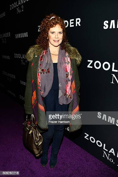 Actress Amy Stiller attends the Zoolander No 2 World Premiere at Alice Tully Hall on February 9 2016 in New York City