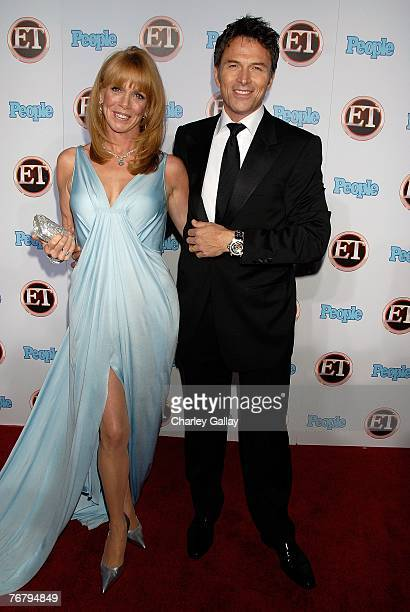 Actress Amy Van Nostrand and actor Tim Daly arrive at 11th Annual Entertainment Tonight Party Sponsored By People September 16 2007 in Los Angeles