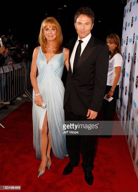 Actress Amy Van Nostrand and actor Tim Daly arrives at 11th Annual Entertainment Tonight Party Sponsored By People September 16 2007 in Los Angeles