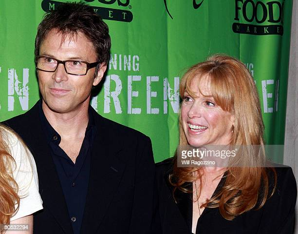 Actress Amy Van Nostrand and Actor Tim Daly attends the Teens Turning Green National Campaign KickOff at the Broad Street Ballroom on April 4 2008 in...
