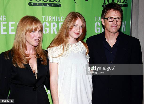 Actress Amy Van Nostrand Emelyn Daly and Actor Tim Daly attends the Teens Turning Green National Campaign KickOff at the Broad Street Ballroom on...