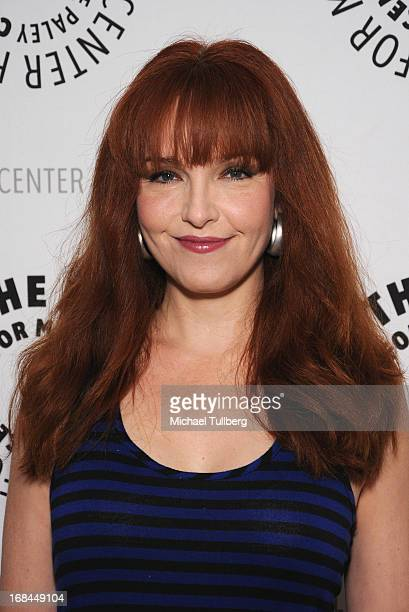 Actress Amy Yasbeck arrives at the premiere of the TV special 'American Masters Mel Brooks Make A Noise' at The Paley Center for Media on May 9 2013...