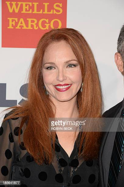 Actress Amy Yasbeck arrives for the 9th annual GLSEN Respect Awards at the Beverly Hills Hotel October 18 2013 in Beverly Hill California The award...