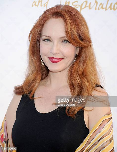 Actress Amy Yasbeck attends the 10th Annual Alfred Mann Foundation Gala at 9900 Wilshire Blvd on October 13 2013 in Beverly Hills California