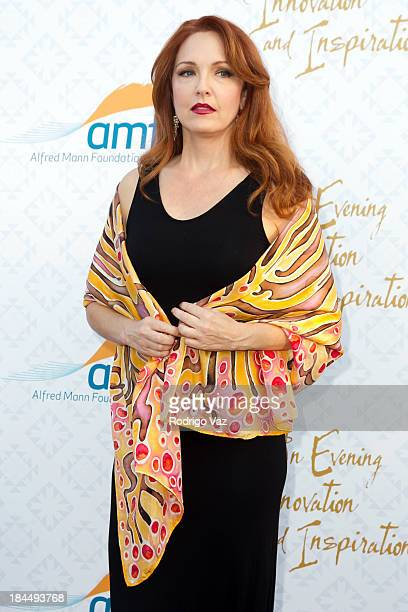 Actress Amy Yasbeck attends the 10th Annual Alfred Mann Foundation Gala on October 13 2013 in Beverly Hills California