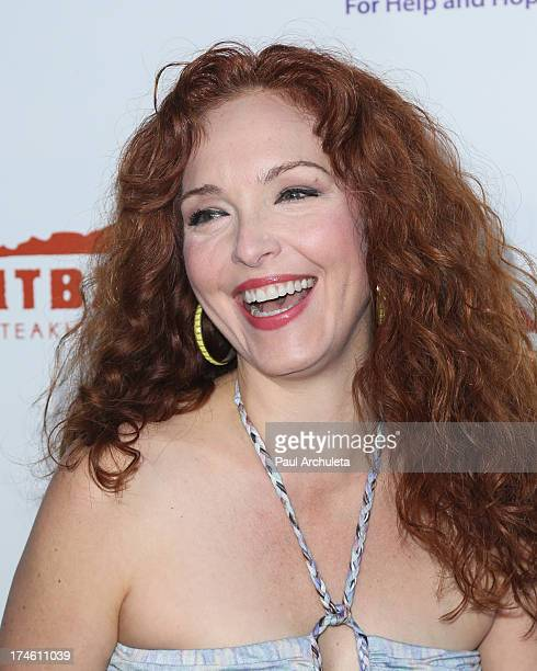 Actress Amy Yasbeck attends the 15th annual DesignCare charity event on July 27 2013 in Malibu California