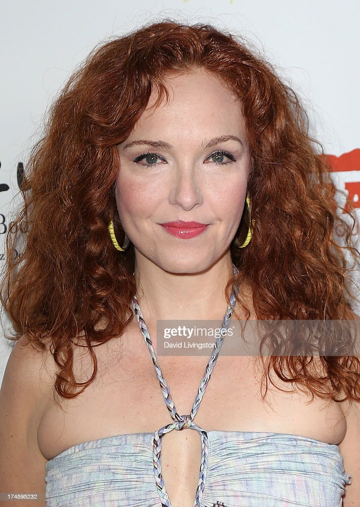 Actress Amy Yasbeck attends the 15th Annual DesignCare on July 27, 2013 in Malibu, California.