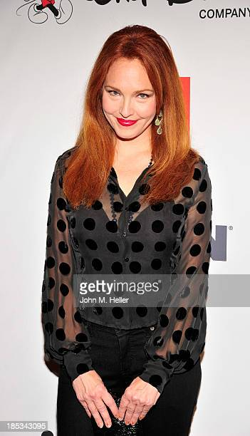 Actress Amy Yasbeck attends the 9th Annual GLSEN Respect Awards at the Beverly Hills Hotel on October 18 2013 in Beverly Hills California